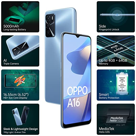 Oppo A16 launched